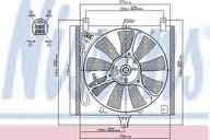 Ventilator, radiator NISSENS 85385