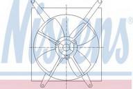 Ventilator, radiator NISSENS 85496