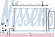 Condensator, climatizare NISSENS 940319