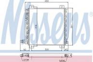 Condensator, climatizare NISSENS 94250