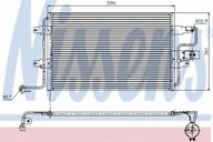 Condensator, climatizare NISSENS 94310