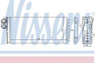 Schimbator caldura, incalzire habitaclu NISSENS 73375