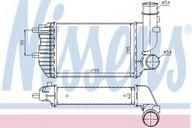 Intercooler, compresor NISSENS 96889