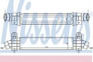 Intercooler, compresor NISSENS 96702