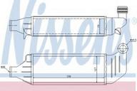 Intercooler, compresor NISSENS 96694