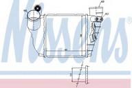 Intercooler, compresor NISSENS 96488