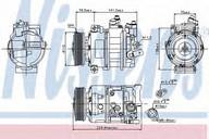 Compresor, climatizare VW Crafter 30-35 (2E_) 2.5 TDI (80KW / 109CP)NISSENS 89020