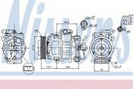 Compresor, climatizare NISSENS 89026