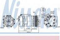 Compresor, climatizare NISSENS 89044