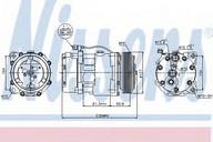 Compresor, climatizare NISSENS 89061