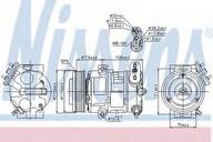 Compresor, climatizare NISSENS 89126