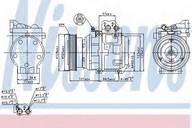 Compresor, climatizare NISSENS 89153