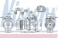Compresor, climatizare NISSENS 89166