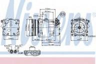 Compresor, climatizare NISSENS 89203