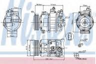 Compresor, climatizare VW Crafter 30-35 (2E_) 2.5 TDI (80KW / 109CP)NISSENS 89211