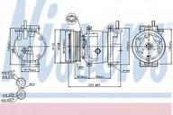 Compresor, climatizare NISSENS 89221