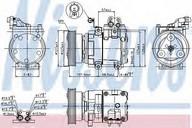 Compresor, climatizare NISSENS 89262