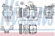Compresor, climatizare NISSENS 89265