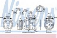 Compresor, climatizare NISSENS 89271