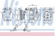 Compresor, climatizare NISSENS 89278
