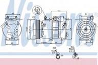 Compresor, climatizare NISSENS 89285