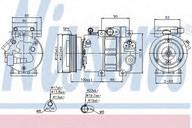 Compresor, climatizare NISSENS 89292