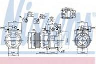 Compresor, climatizare NISSENS 89301