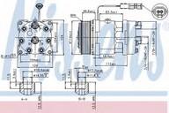 Compresor, climatizare NISSENS 89459