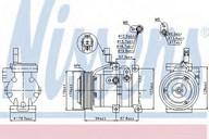 Compresor, climatizare NISSENS 89533