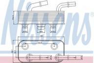 Radiator racire ulei, cutie de viteze automata NISSENS 90657