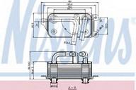 Radiator racire ulei, cutie de viteze automata NISSENS 90623