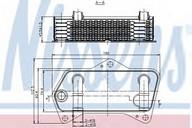 Radiator racire ulei, cutie de viteze automata NISSENS 90653