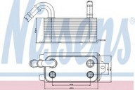 Radiator racire ulei, cutie de viteze automata NISSENS 90661