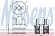 Radiator racire ulei, cutie de viteze automata NISSENS 90664