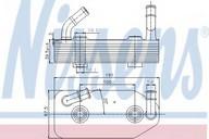Radiator racire ulei, cutie de viteze automata NISSENS 90667