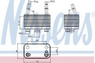 Radiator racire ulei, cutie de viteze automata NISSENS 90678