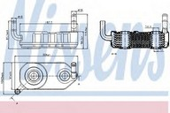 Radiator racire ulei, cutie de viteze automata NISSENS 90708