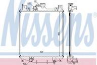Radiator, racire motor NISSENS 64173A