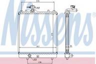 Radiator, racire motor NISSENS 64195