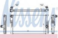 Radiator, racire motor NISSENS 60816