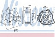 Ventilator, habitaclu NISSENS 87020