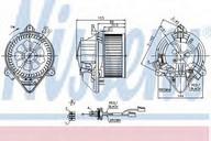 Ventilator, habitaclu NISSENS 87053