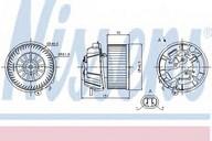 Ventilator, habitaclu NISSENS 87127