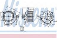 Ventilator, habitaclu NISSENS 87136