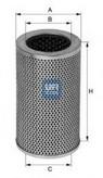 Filtru hidraulic, sistem directie UFI 25.406.01