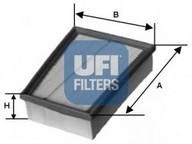 Filtru aer UFI 30.132.00