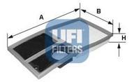 Filtru aer UFI 30.342.00
