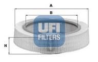Filtru aer UFI 30.917.01