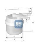 Filtru combustibil UFI 31.007.00