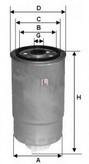 Filtru combustibil SOFIMA S 8500 NR